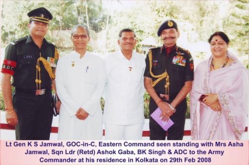 2008 02 29 Lt Gen Jamwal GOC in C Eastern Command
