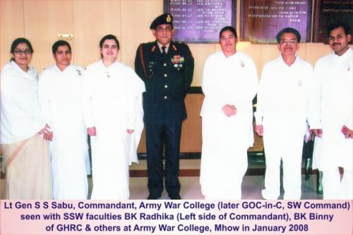 2008 Lt Gen Sabu